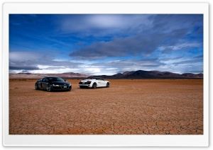 Audi R8 In The Desert HD Wide Wallpaper for Widescreen