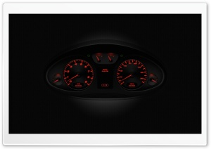 Audi R8 Speedometer HD Wide Wallpaper for Widescreen
