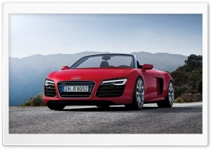 Audi R8 Spyder - 2013 HD Wide Wallpaper for 4K UHD Widescreen desktop & smartphone