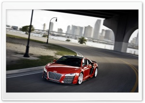 Audi R8 TDI Le Mans Concept 1 HD Wide Wallpaper for Widescreen