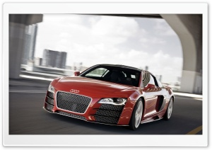 Audi R8 TDI Le Mans Concept 2 HD Wide Wallpaper for Widescreen