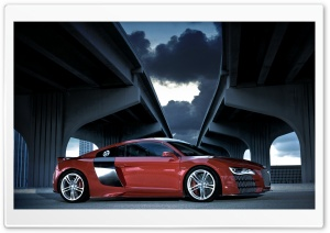 Audi R8 TDI Le Mans Concept 4 HD Wide Wallpaper for Widescreen