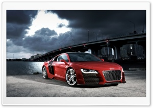 Audi R8 TDI Le Mans Concept 5 HD Wide Wallpaper for Widescreen