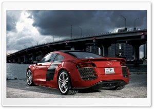 Audi R8 TDI Le Mans Concept 6 HD Wide Wallpaper for Widescreen