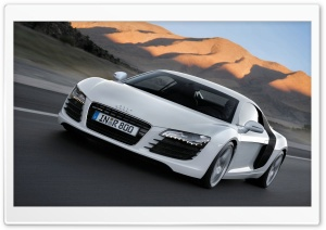 Audi R8 V10 HD Wide Wallpaper for Widescreen
