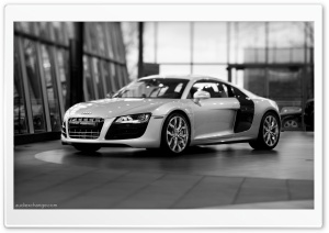 Audi R8 V10 5.2 FSI Coupe HD Wide Wallpaper for Widescreen