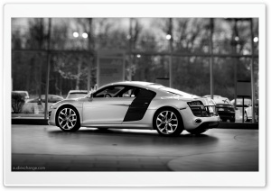 Audi R8 V10 5.2 FSI Coupe Ultra HD Wallpaper for 4K UHD Widescreen desktop, tablet & smartphone