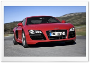 Audi R8 V10 Car 11 HD Wide Wallpaper for Widescreen