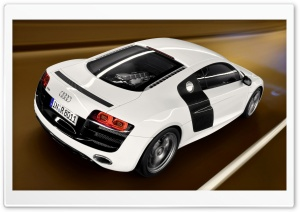 Audi R8 V10 Car 13 HD Wide Wallpaper for Widescreen