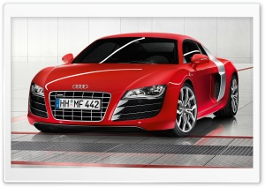 Audi R8 V10 Car 14 HD Wide Wallpaper for Widescreen