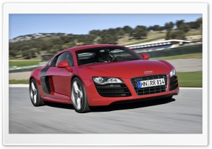 Audi R8 V10 Car 2 HD Wide Wallpaper for Widescreen