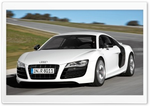Audi R8 V10 Car 3 HD Wide Wallpaper for Widescreen