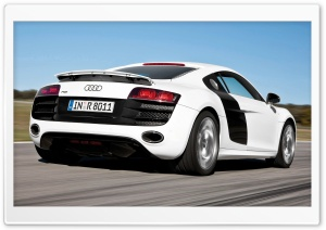 Audi R8 V10 Car 4 HD Wide Wallpaper for Widescreen