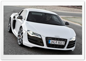 Audi R8 V10 Car 5 HD Wide Wallpaper for Widescreen