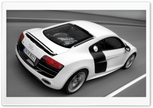 Audi R8 V10 Car 6 HD Wide Wallpaper for Widescreen