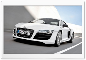 Audi R8 V10 Car 7 HD Wide Wallpaper for Widescreen