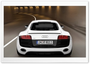 Audi R8 V10 Car 8 HD Wide Wallpaper for Widescreen