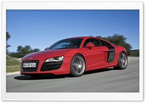 Audi R8 V10 Car 9 HD Wide Wallpaper for Widescreen