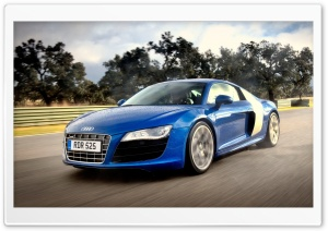 Audi R8 V10 Front HD Wide Wallpaper for Widescreen