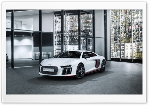 Audi R8 V10 Plus Selection 24h Special Edition HD Wide Wallpaper for Widescreen