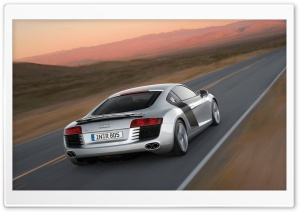 Audi R8 V10 Speed HD Wide Wallpaper for Widescreen
