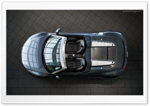 Audi R8 V10 Spyder from above HD Wide Wallpaper for Widescreen
