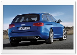 Audi RS6 Avant HD Wide Wallpaper for Widescreen