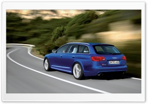 Audi RS6 Avant Car 10 HD Wide Wallpaper for Widescreen