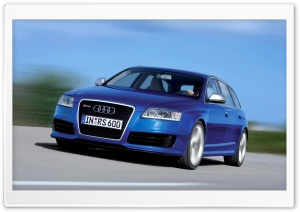 Audi RS6 Avant Car 4 HD Wide Wallpaper for Widescreen