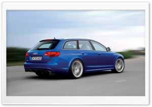 Audi RS6 Avant Car 5 HD Wide Wallpaper for Widescreen