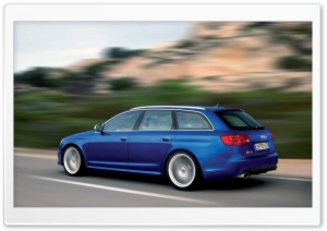 Audi RS6 Avant Car 6 HD Wide Wallpaper for Widescreen