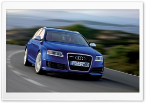 Audi RS6 Avant Car 7 HD Wide Wallpaper for Widescreen