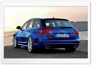 Audi RS6 Avant Car 8 HD Wide Wallpaper for Widescreen