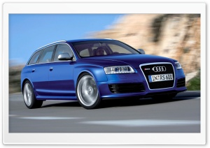 Audi RS6 Avant Car 9 HD Wide Wallpaper for Widescreen