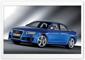 Audi RS6 Sedan 2 HD Wide Wallpaper for Widescreen