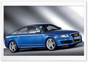 Audi RS6 Sedan 3 HD Wide Wallpaper for Widescreen