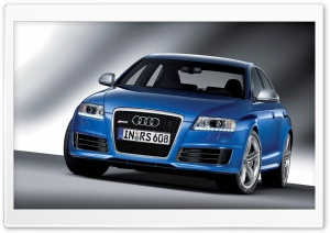 Audi RS6 Sedan 4 HD Wide Wallpaper for Widescreen