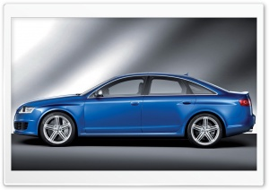 Audi RS6 Sedan 6 HD Wide Wallpaper for Widescreen