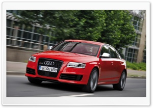 Audi RS6 Sedan Car HD Wide Wallpaper for Widescreen