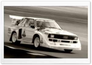 Audi S1 Quattro Rally Car 1 HD Wide Wallpaper for Widescreen