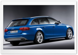 Audi S4 Avant Car 10 HD Wide Wallpaper for Widescreen
