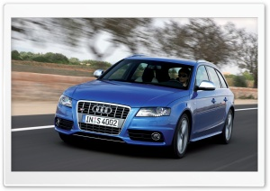 Audi S4 Avant Car 11 HD Wide Wallpaper for Widescreen