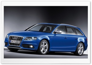 Audi S4 Avant Car 14 HD Wide Wallpaper for Widescreen