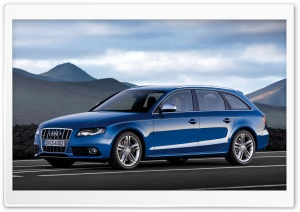 Audi S4 Avant Car 2 Ultra HD Wallpaper for 4K UHD Widescreen desktop, tablet & smartphone