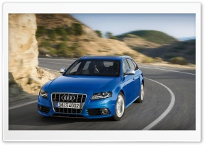 Audi S4 Avant Car 7 HD Wide Wallpaper for Widescreen
