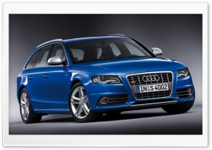 Audi S4 Avant Car 9 HD Wide Wallpaper for Widescreen