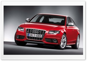 Audi S4 Sedan HD Wide Wallpaper for Widescreen