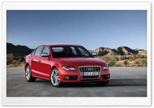 Audi S4 Sedan Car HD Wide Wallpaper for Widescreen