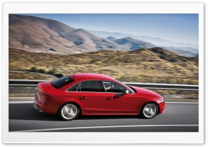 Audi S4 Sedan Highway HD Wide Wallpaper for Widescreen