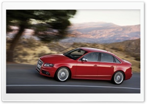 Audi S4 Sedan Speed HD Wide Wallpaper for Widescreen